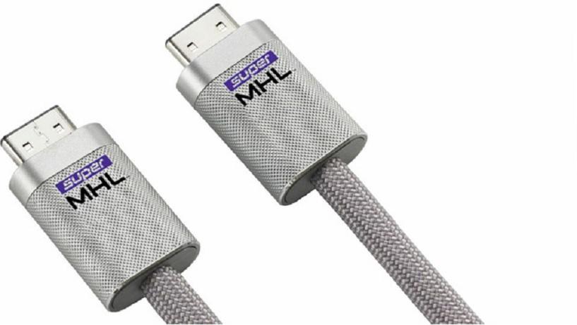 Adaptador MHL que maneja videos con resolución 8K