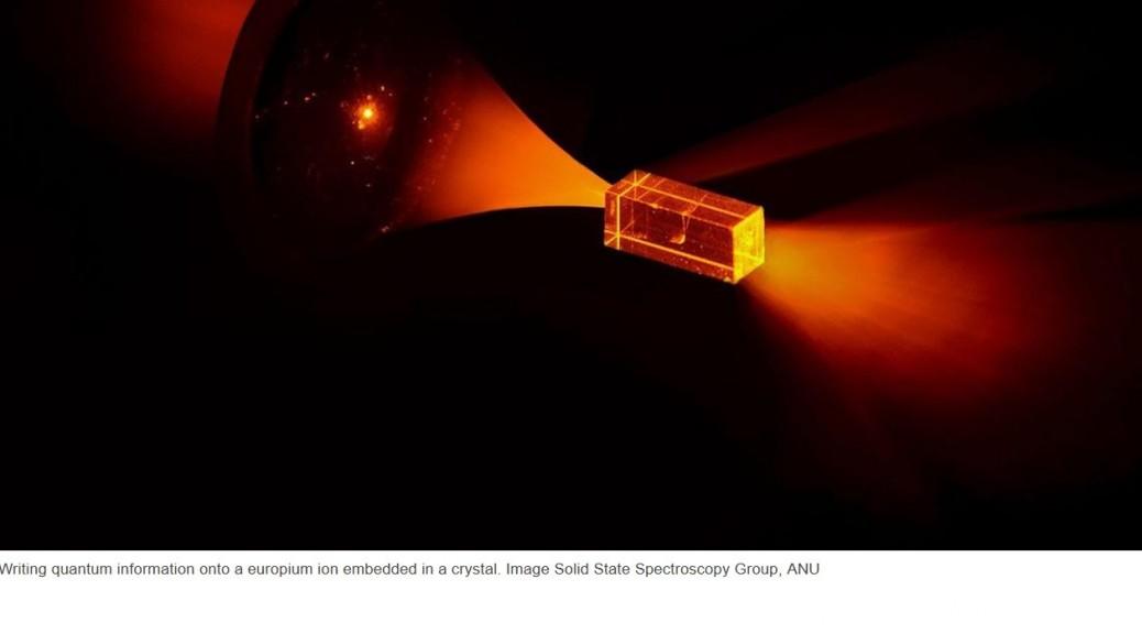 Desarrollan disco de estado sólido cuántico que almacena información por horas