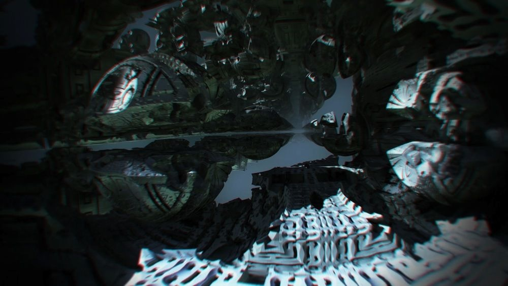 Explore un universo fractal virtual 3D