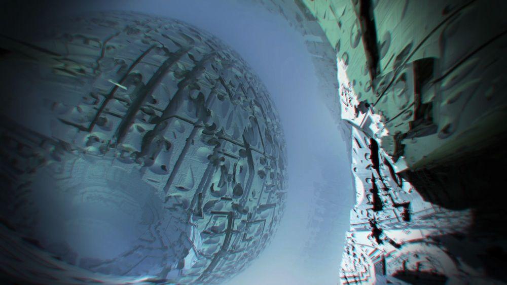 Universo fractal 3D foto 2