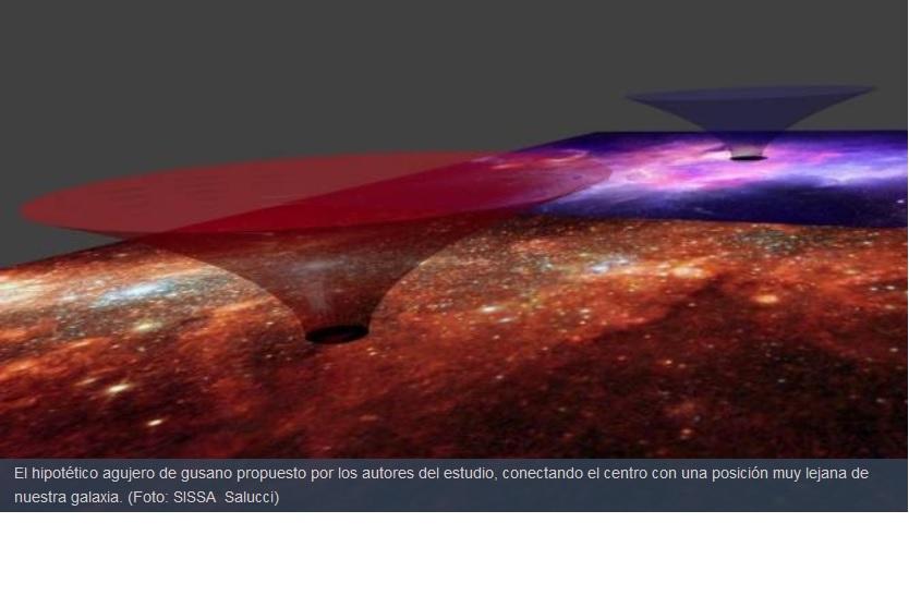 La Vía Láctea podría poseer un túnel en el espacio-tiempo