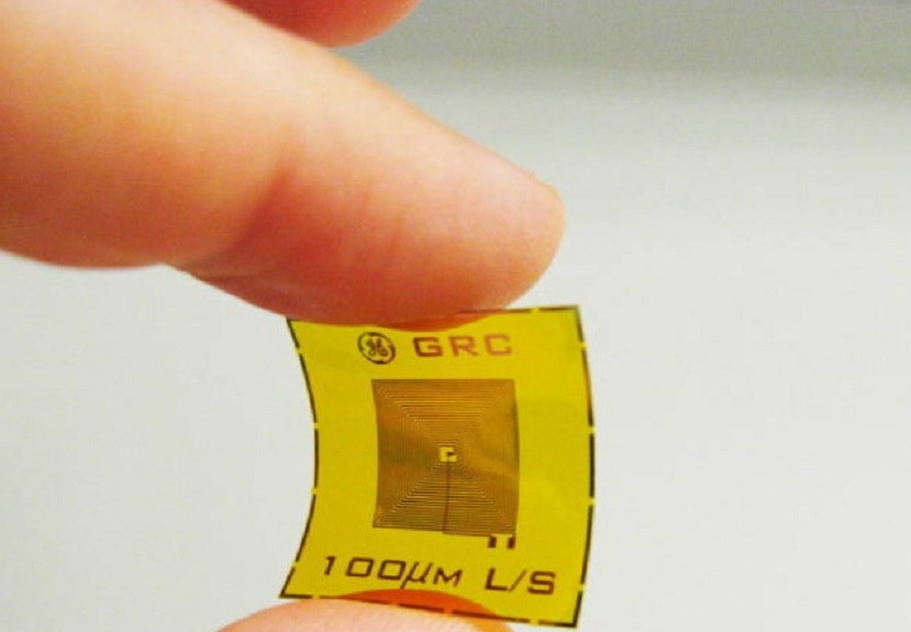 Detectores inalámbricos de explosivos del tamaño de estampillas