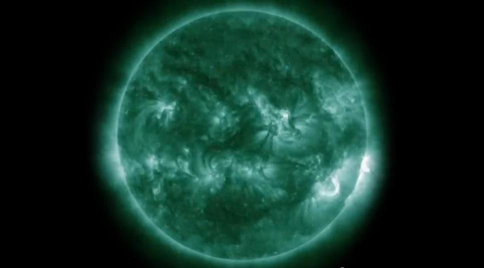 Asombrosas imágenes del Sol en timelapses de cinco años