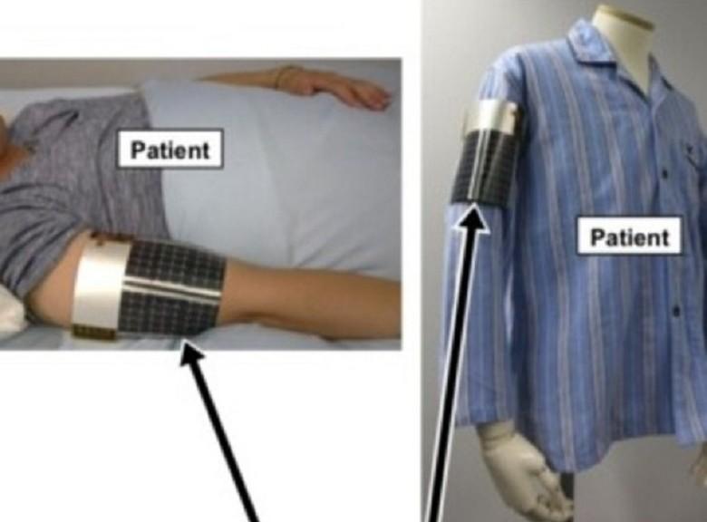 Crean brazalete desechable que mide la fiebre