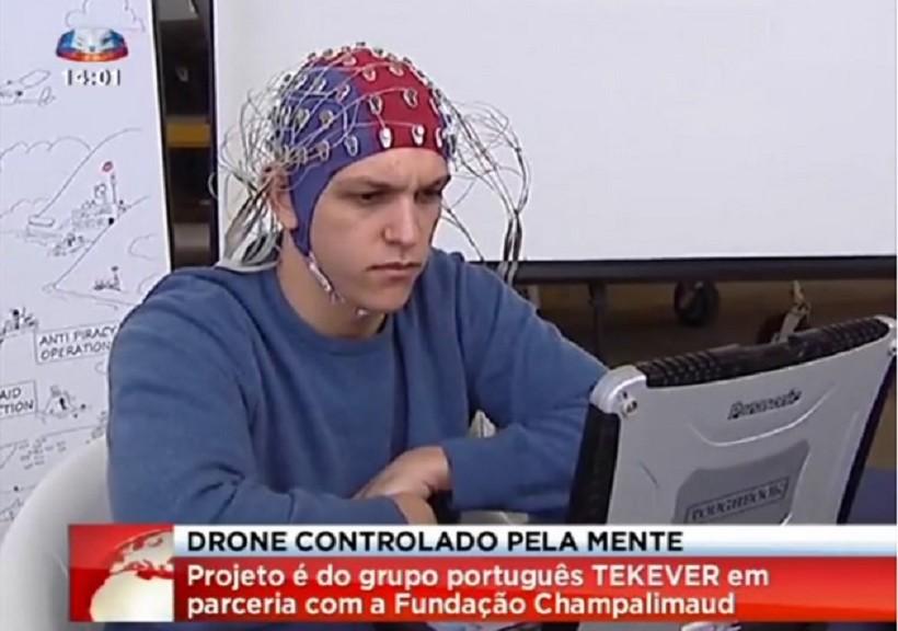 Logran controlar drones con la mente