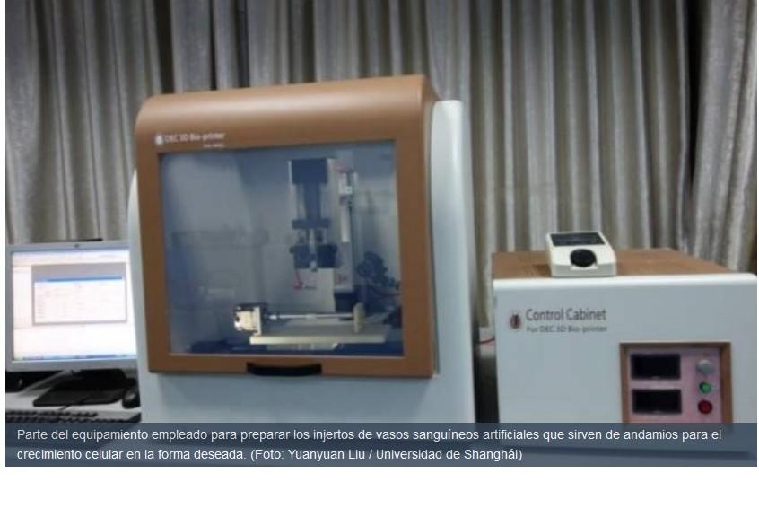 Fabrican vasos sanguíneos sintéticos de 3 capas para ser injertados en humanos