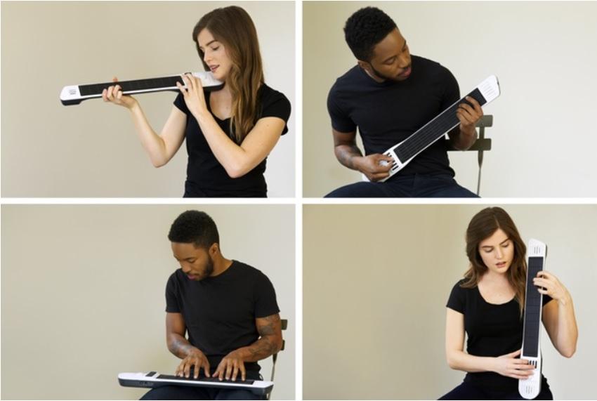 Desarrollan instrumento digital que sirve de violín, guitarra, chelo y teclado musical