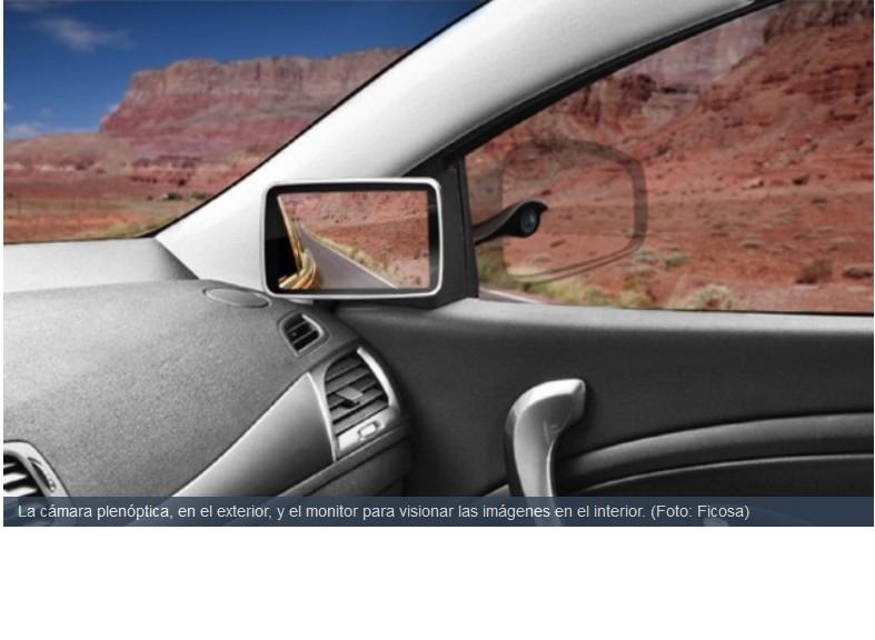 Desarrollan espejo retrovisor 3D y no se necesitan gafas especiales para usarlo