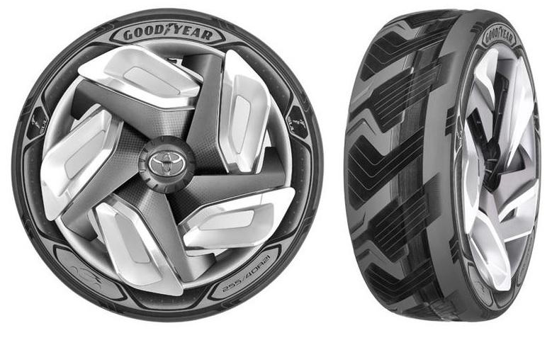 Goodyear presenta neumáticos que recargan baterías y mejoran la seguridad