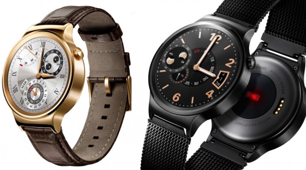 Huawei presenta su primer reloj inteligente