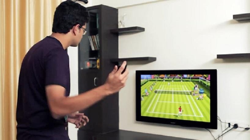 Juegue gratis al tenis usando su teléfono Android como raqueta