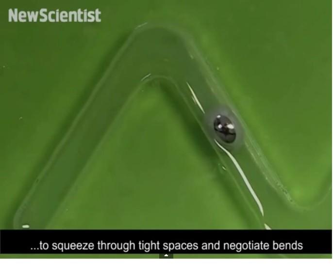 Inventan un motor de metal líquido autoalimentado