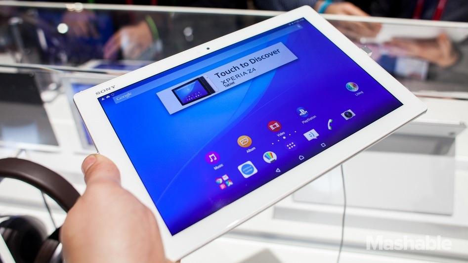 Sony anuncia su nueva tablet Xperia Z4