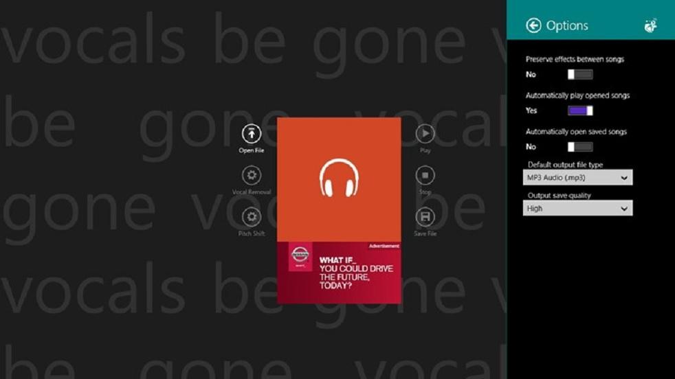 Aplicativo gratuito para remover la voz de las canciones
