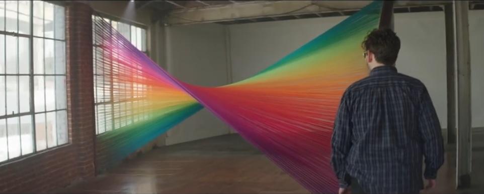 La emocionante reacción de los daltónicos al distinguir los colores por primera vez