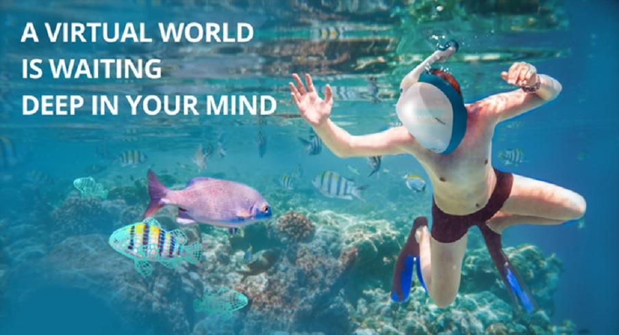 Ahora un casco de realidad virtual para usar bajo el agua