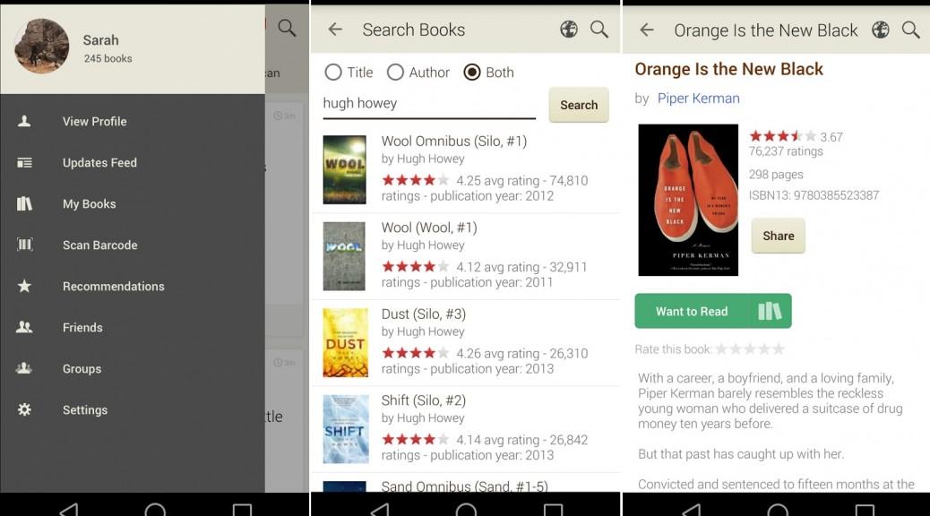 La red social más grande del mundo para lectores de libros, gratis para iPhone, iPad, Android