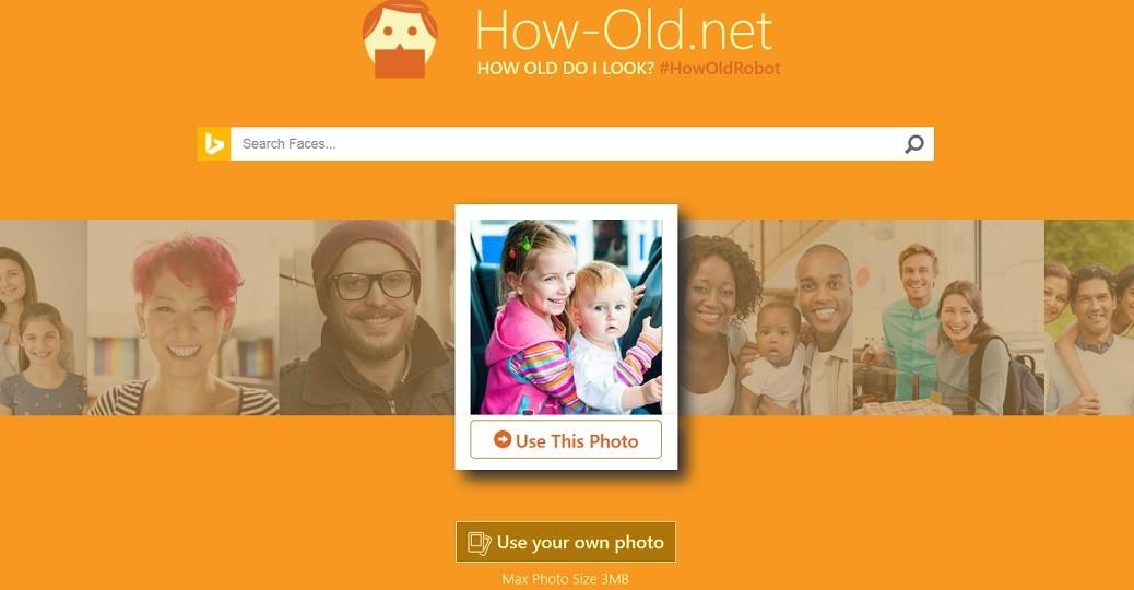Sitio web de Microsoft adivina su edad usando una foto