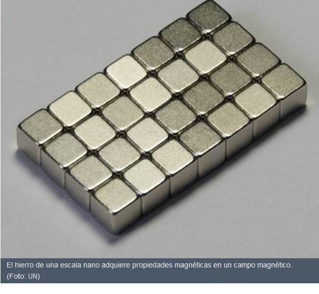 Nanocubos de hierro que descontaminan aguas