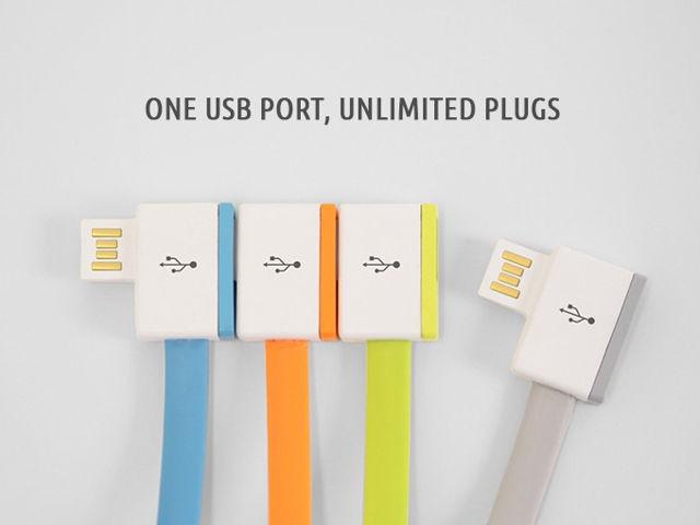 InifiniteUSB, un solo puerto USB, dispositivos ilimitados conectados