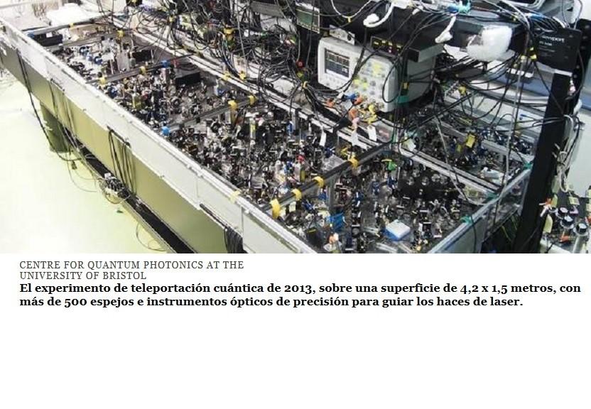 Integran teleportación cuántica en un chip de silicio