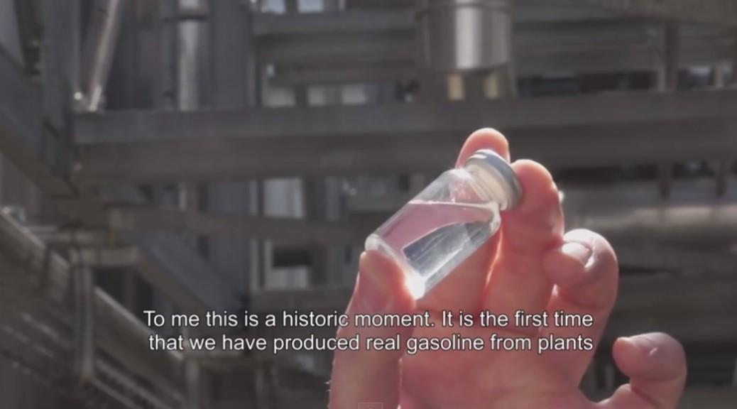 Audi desarrolla gasolina sintética hecha con plantas
