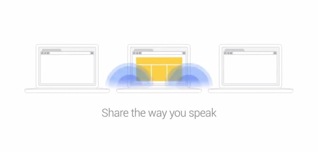 Comparta enlaces entre computadores usando sonido