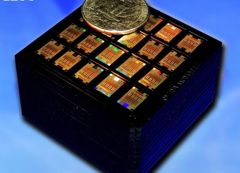IBM ha probado exitosamente un chip fotónico de silicio