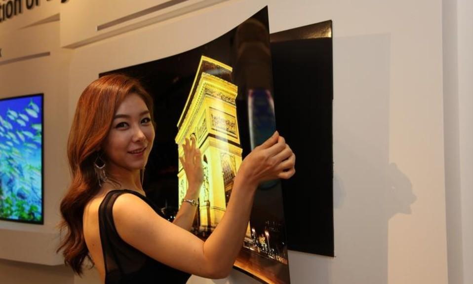 LG presenta prototipo de pantalla OLED con 0.97 mm. de grosor