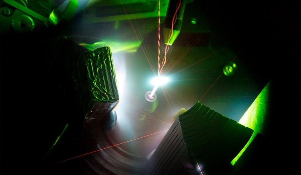 Este láser produce plasma más caliente que el Sol