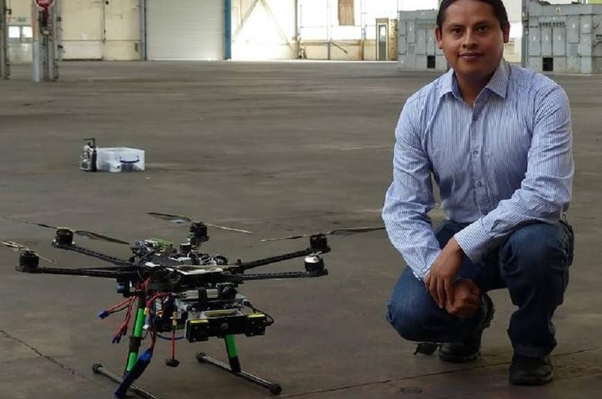 Fabrican dron que vuela de manera autónoma, aprende rutas y no necesita GPS