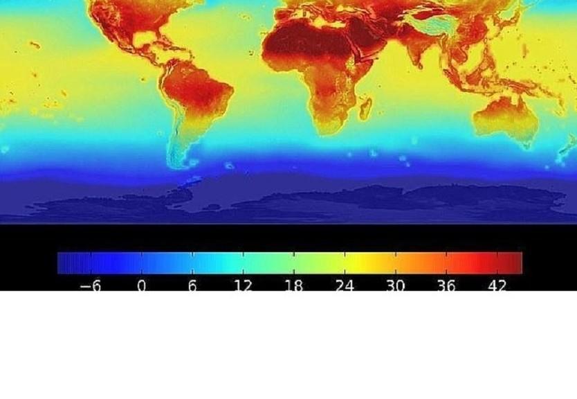 Mapa de la NASA muestra cómo se dispararán las temperaturas en el 2.100