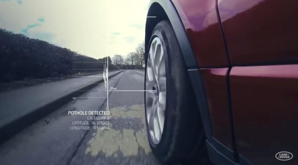 Jaguar Land Rover desarrollan un sistema anti-baches