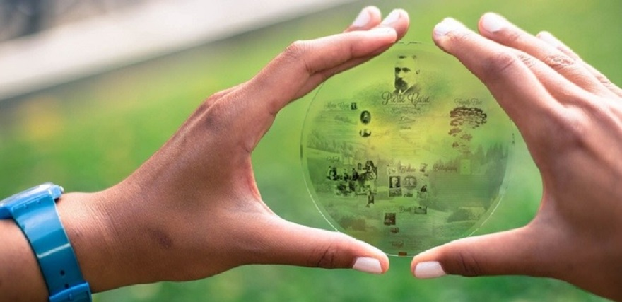Discos que grabarán su información para toda la eternidad