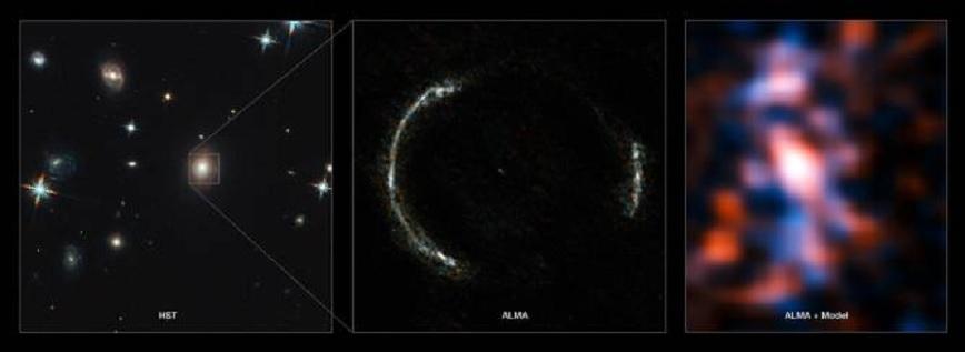 Obtienen la imagen más detallada jamás vista del universo lejano