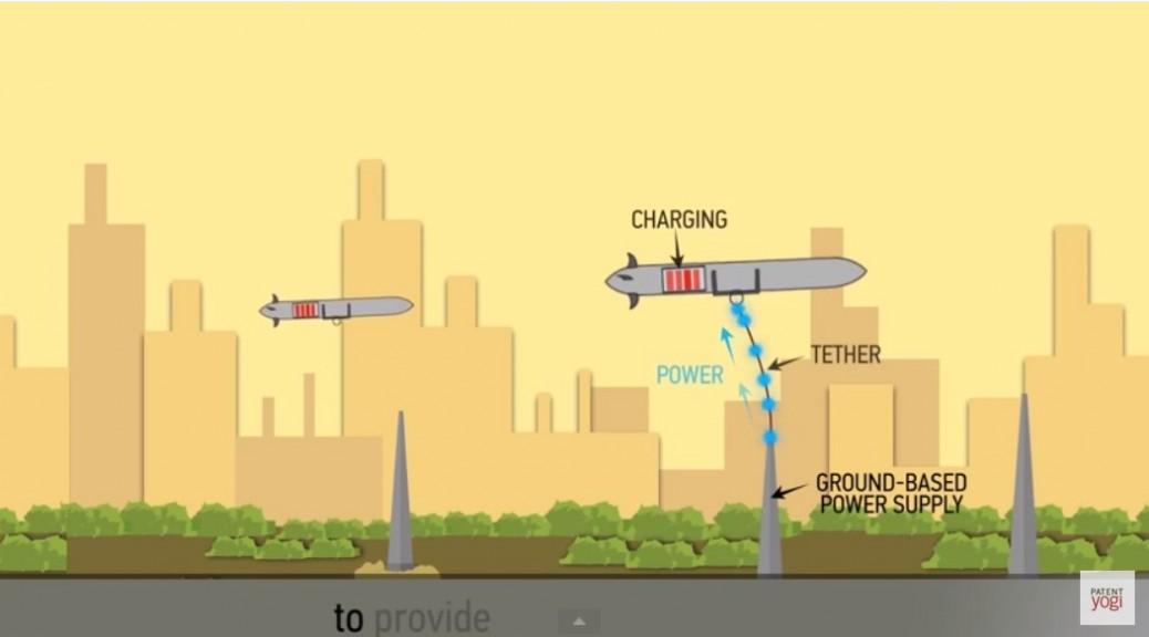 Boeing patenta drones que pueden volar indefinidamente