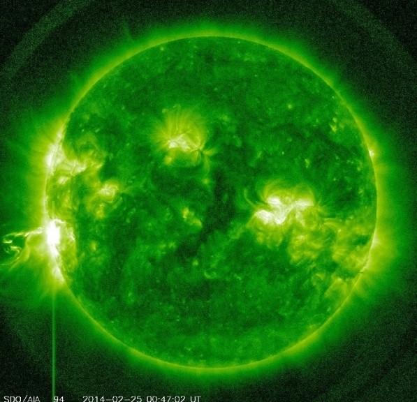 Video de la NASA de todas las explosiones solares de los últimos 5 años