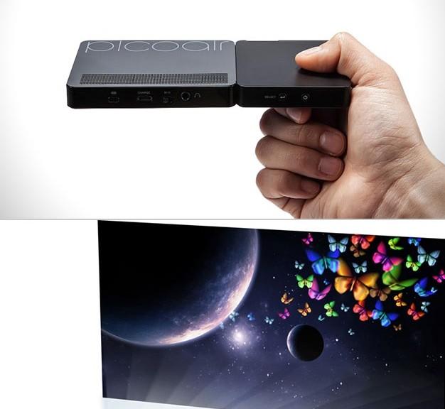 Pico proyectores láser con resolución HD