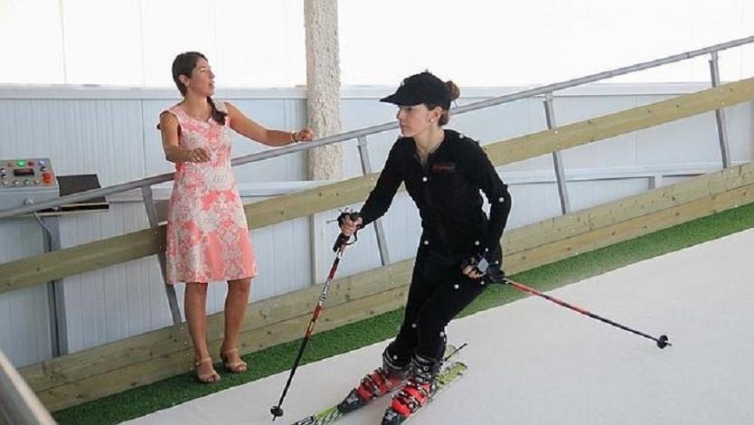 Un nuevo simulador de esquí promete una experiencia real