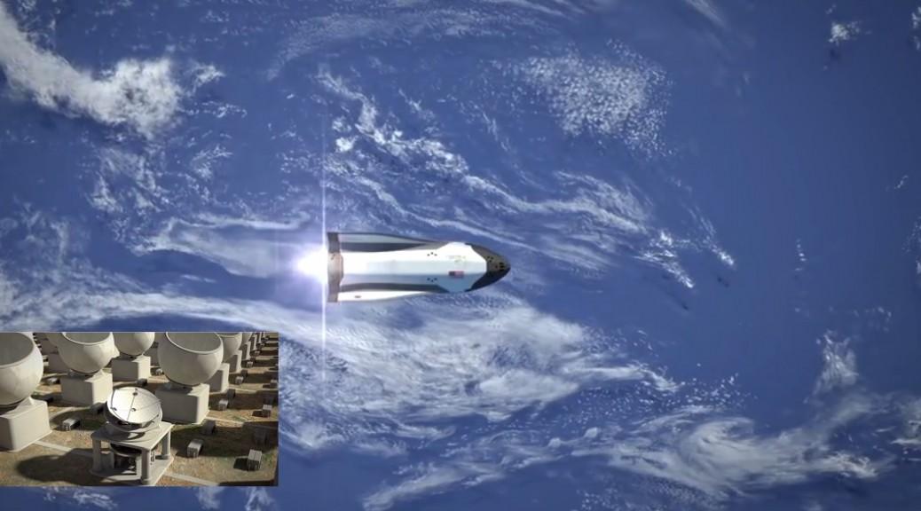 Buscan usar microondas enviadas desde la Tierra para impulsar naves espaciales