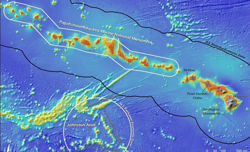 Vea en vivo robots explorando el fondo del Océano Pacífico