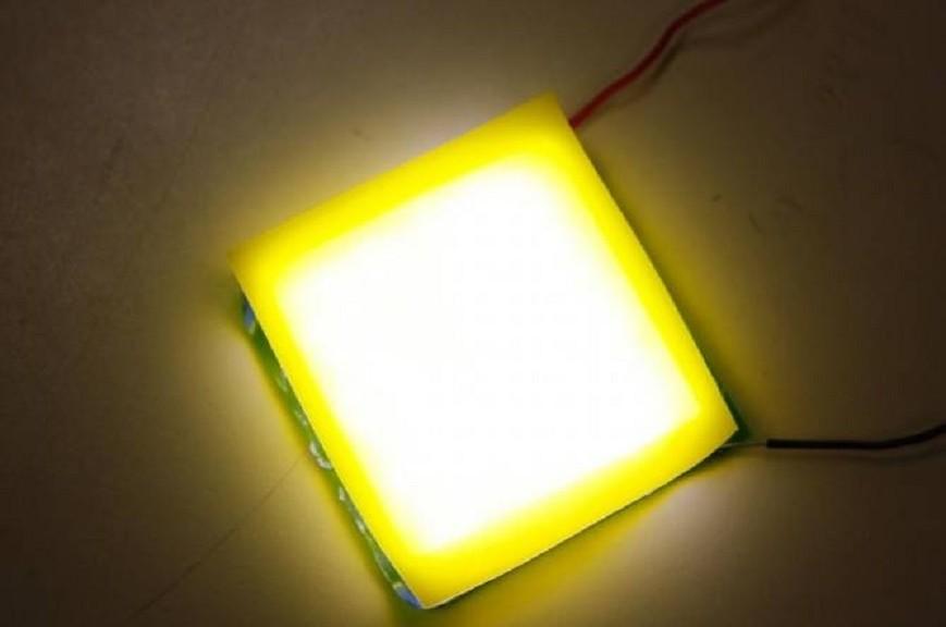 Crean nuevo LED de luz blanca muy flexible y barato