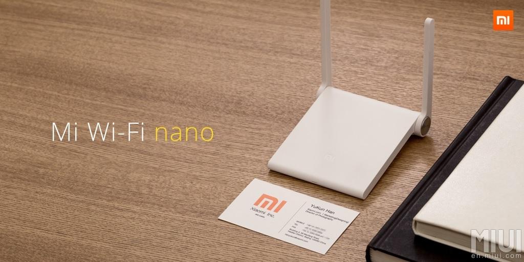 Mi Wi-Fi nano es un router compacto y portátil