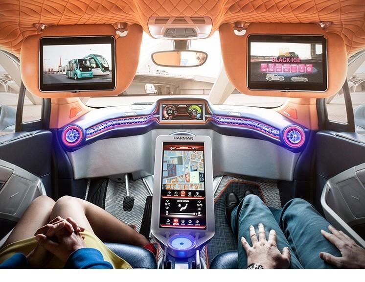 Budii es un auto prototipo de conducción autónoma que nos muestra el futuro de los automóviles