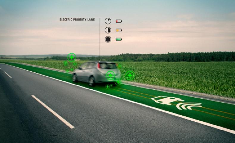 En el Reino Unido trabajan en tecnología para dedicar un carril para recargar autos eléctricos