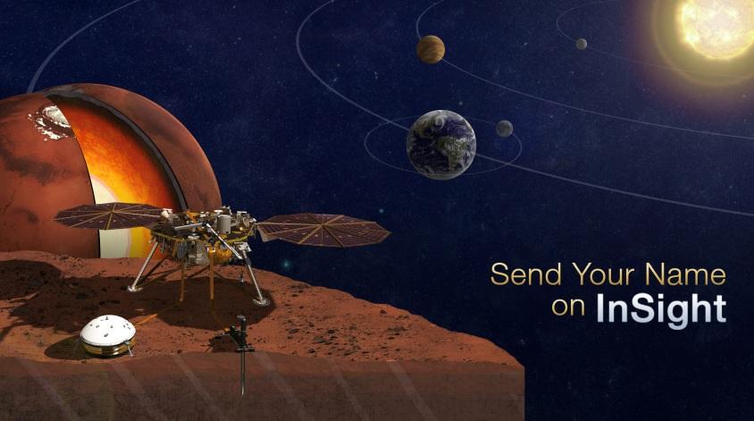 Ahora puede enviar gratis su nombre en un chip a Marte