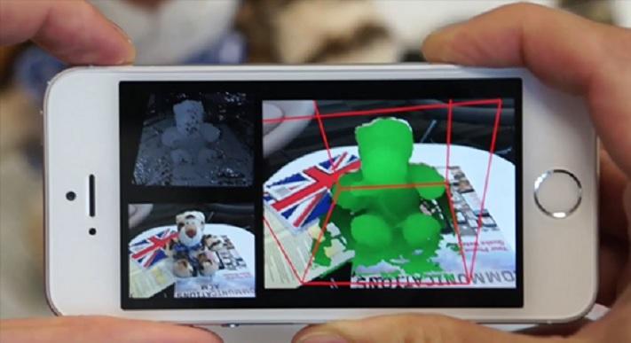 Microsoft quiere convertir su teléfono en un escáner 3D