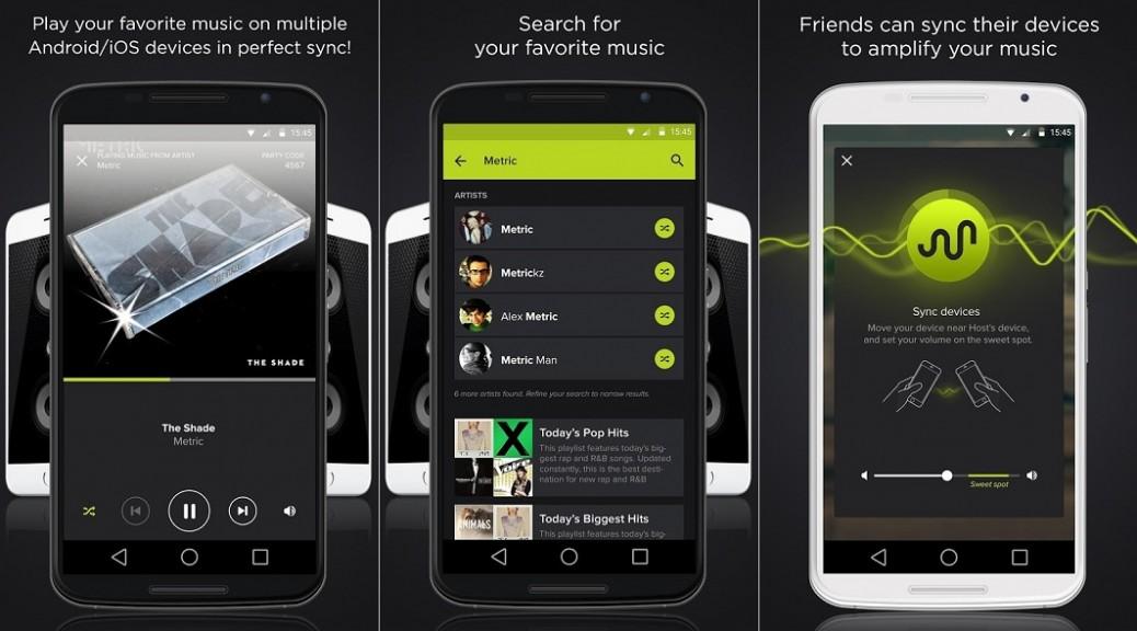 Cree un sistema de altavoces usando los teléfonos de sus amigos, gratis para Android, iPhone, iPad
