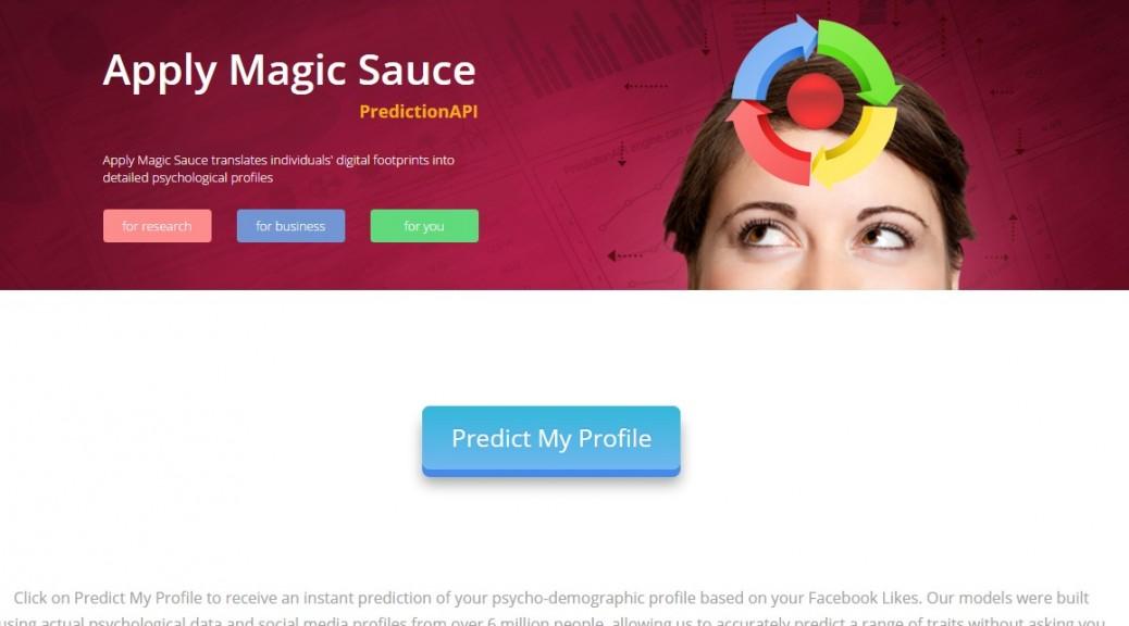 Sitio web gratuito predice su personalidad en Facebook