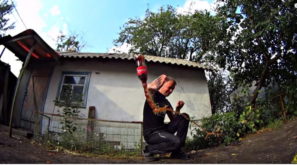 Los rusos también fabrican cohetes con Coca-Cola